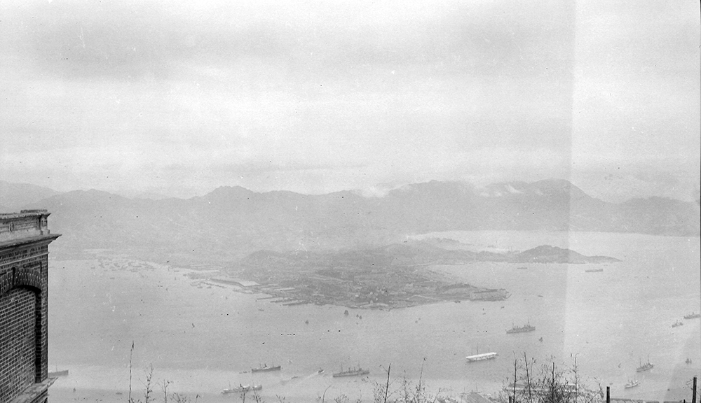 View eastwards from Taikoo, Hong Kong, 1911-12.  Sw17-014.