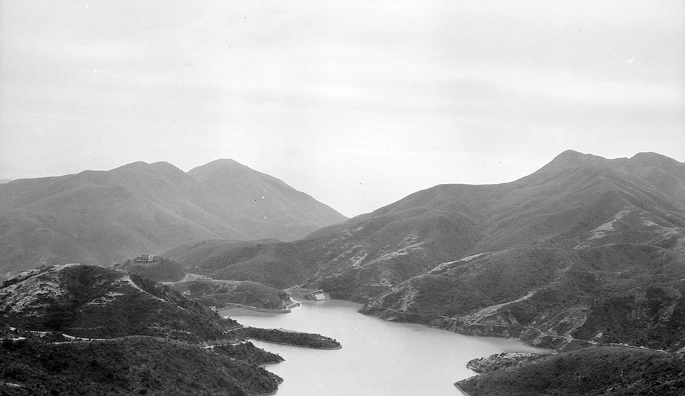 View from Mount Parker, Hong Kong, 1911-12.  Sw17-024.