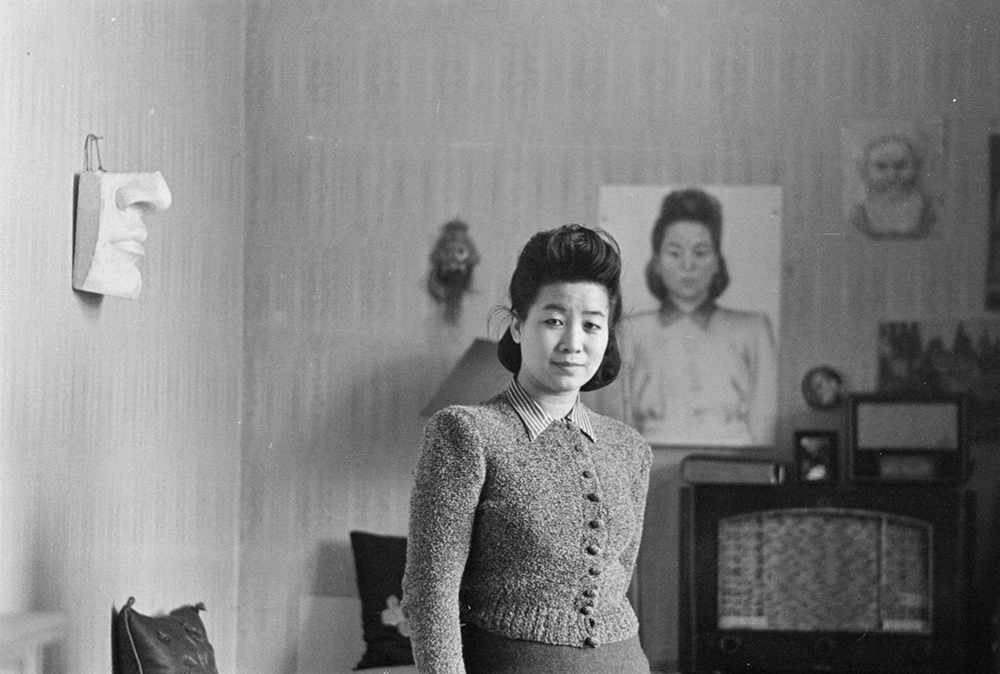 Hu Jibang (胡济邦), war correspondent and attaché to Fu Bingchang in Moscow, c.1943 - 1949, photograph by Fu Bingchang, 21 October 1945.  Fu-n670 © 2007 C. H. Foo and Y. W. Foo.