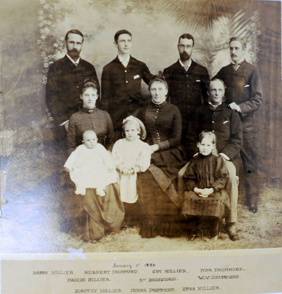 10. Drummond Family Portrait, 1 January 1890.
