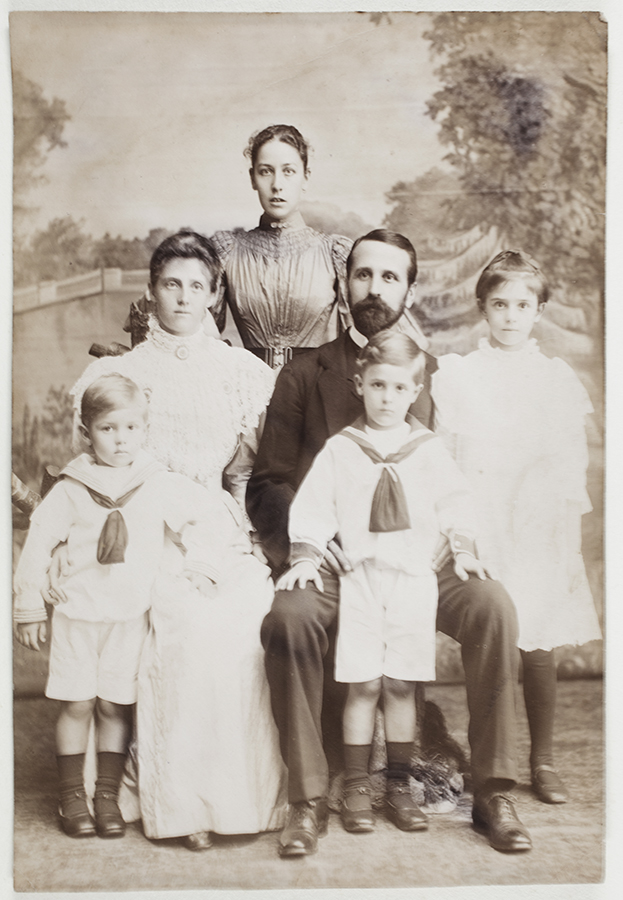 14. Harry and family: children from left: Geoff, Eddie, Harry and Dorothy. Hong Kong, c. 1898.
