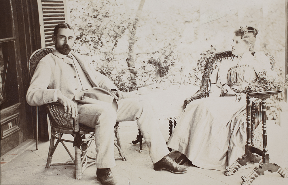13. Guy and Ada Hillier, c. 1894.