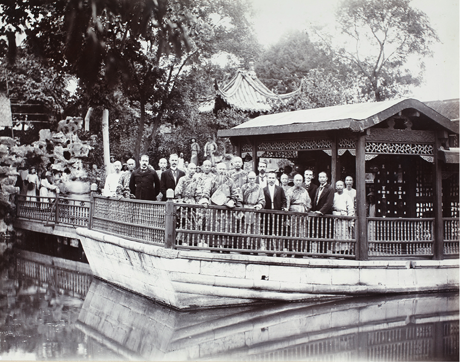 2. Lunch-party given by the Viceroy of the Two Kiangs, Wei Guangdao, on the birthday of the Emperor of China, 18 August 1903.
