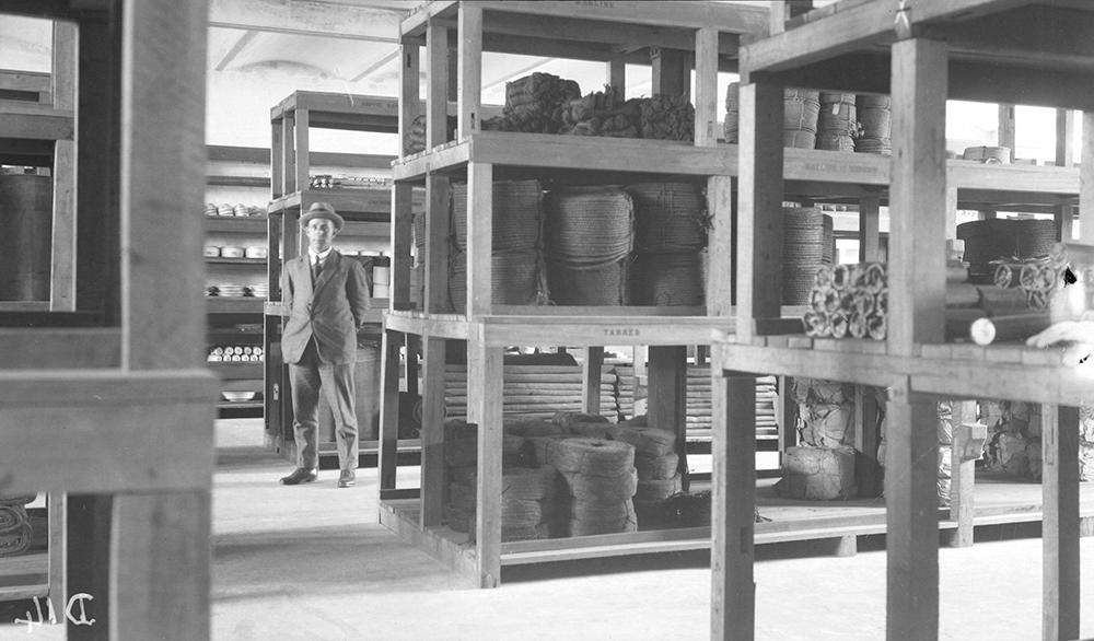 North Point Store, Hong Kong, 1919-1920.  Photograph by G. Warren Swire.  HPC ref: Sw04-019.  © 2007 John Swire & Sons Ltd.