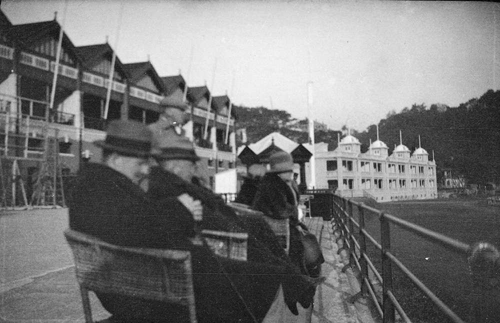 Hong Kong Race-course, Happy Valley, Hong Kong, 1919-1920.  Photograph by G. Warren Swire.  HPC ref: Sw26-077.  © 2007 John Swire & Sons Ltd.