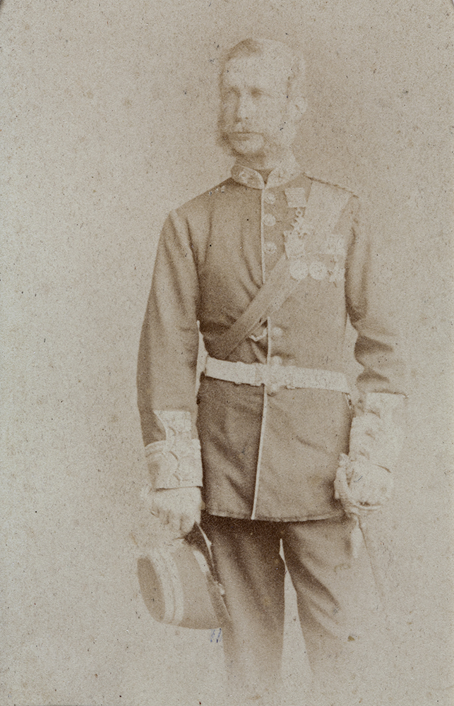 Lieutenant-General Sir John Wellesley Thomas, KCB, 1860s. Royal Hampshire Collection (RH03-02).