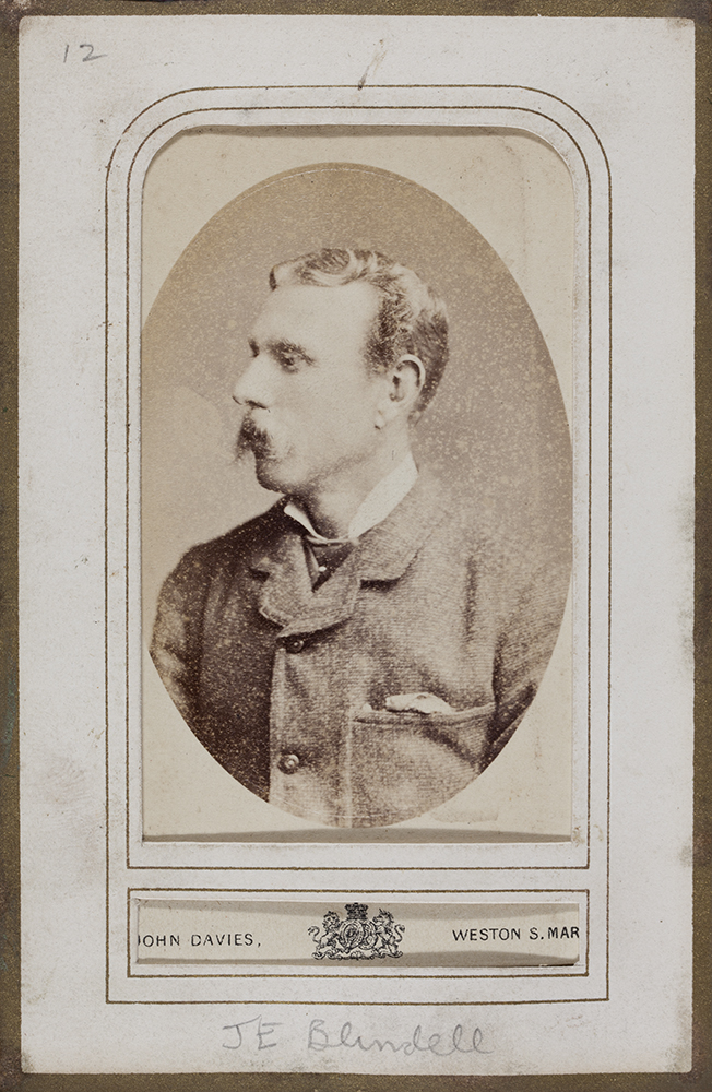 John Eyles Blundell. Royal Hampshire Collection (RH03-81).