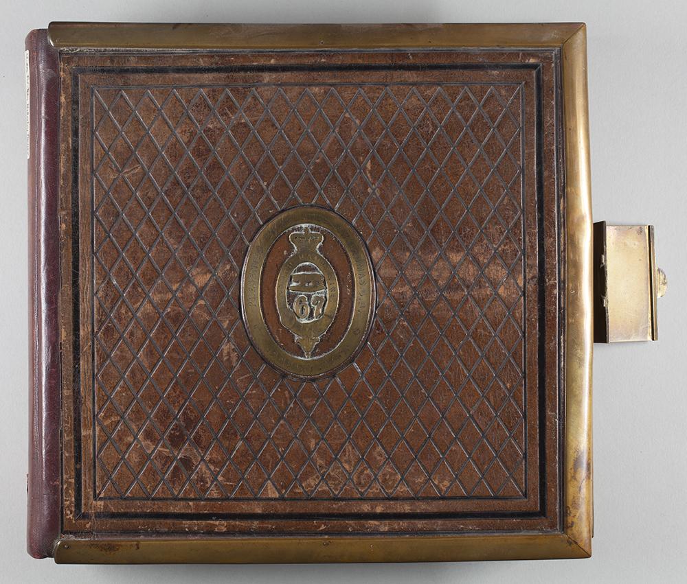 Album cover. Royal Hampshire Regiment Museum ref: M1503.