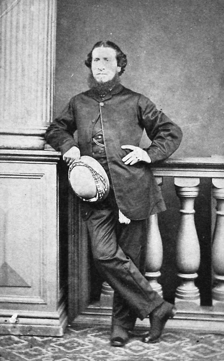 Edward Newman in Hong Kong, 1870. Image courtesy of Graeme Clark.