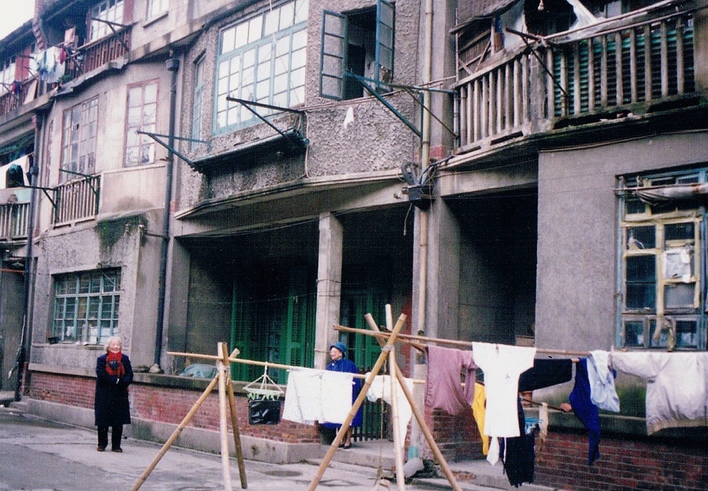 House at 3 Kiangwan Road, Shanghai, near the railway station where the Nationalists arrived in 1927.