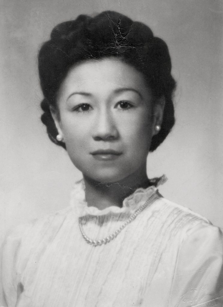 My mother Billie - from abandoned Chinese baby - to M.B.E. Courtesy Gill family.