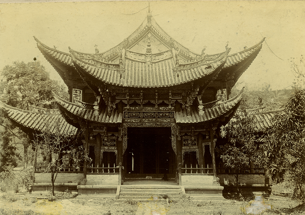 A Chinese temple. © Royal Geographical Society (with IBG).