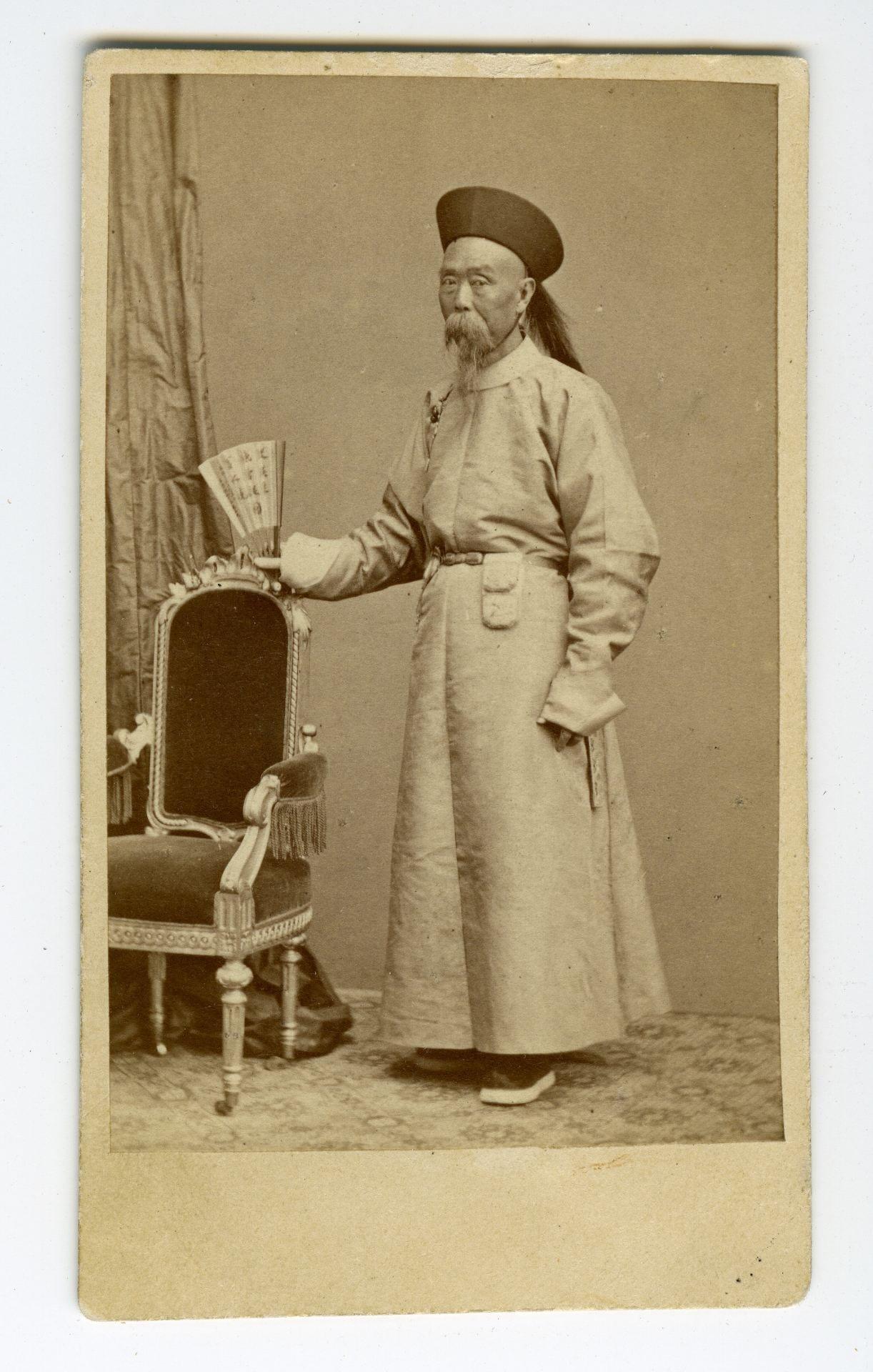 Figure 3: Binchun's portrait, ca. 1866, courtesy of Tong Bingxue.