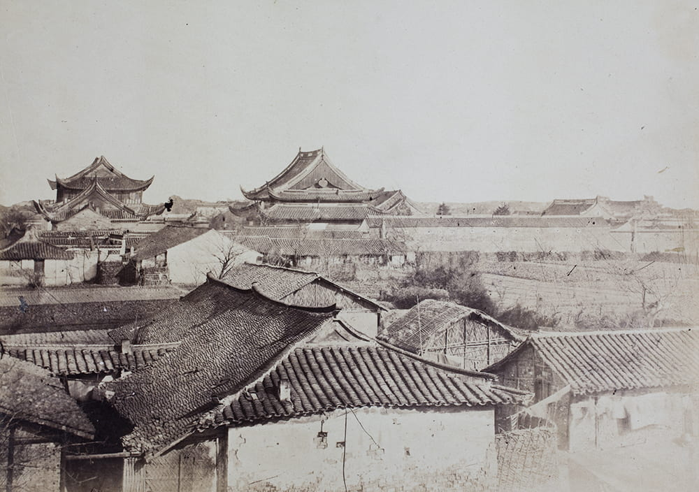 View of the Confucian Temple, Shanghai, 1863. HPC ref: RH01-19.