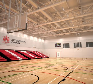 City Uni Sports Hall extended 02