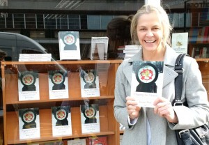 Author Photo Outside Karnac Bookshop