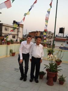Alex in Nepal
