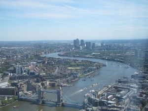 Recent view of the Thames from the Shard (Photo 3)
