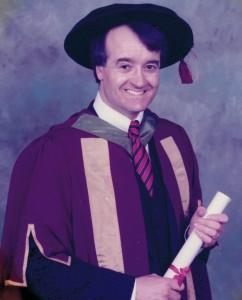 John's PhD Graduation - 1989