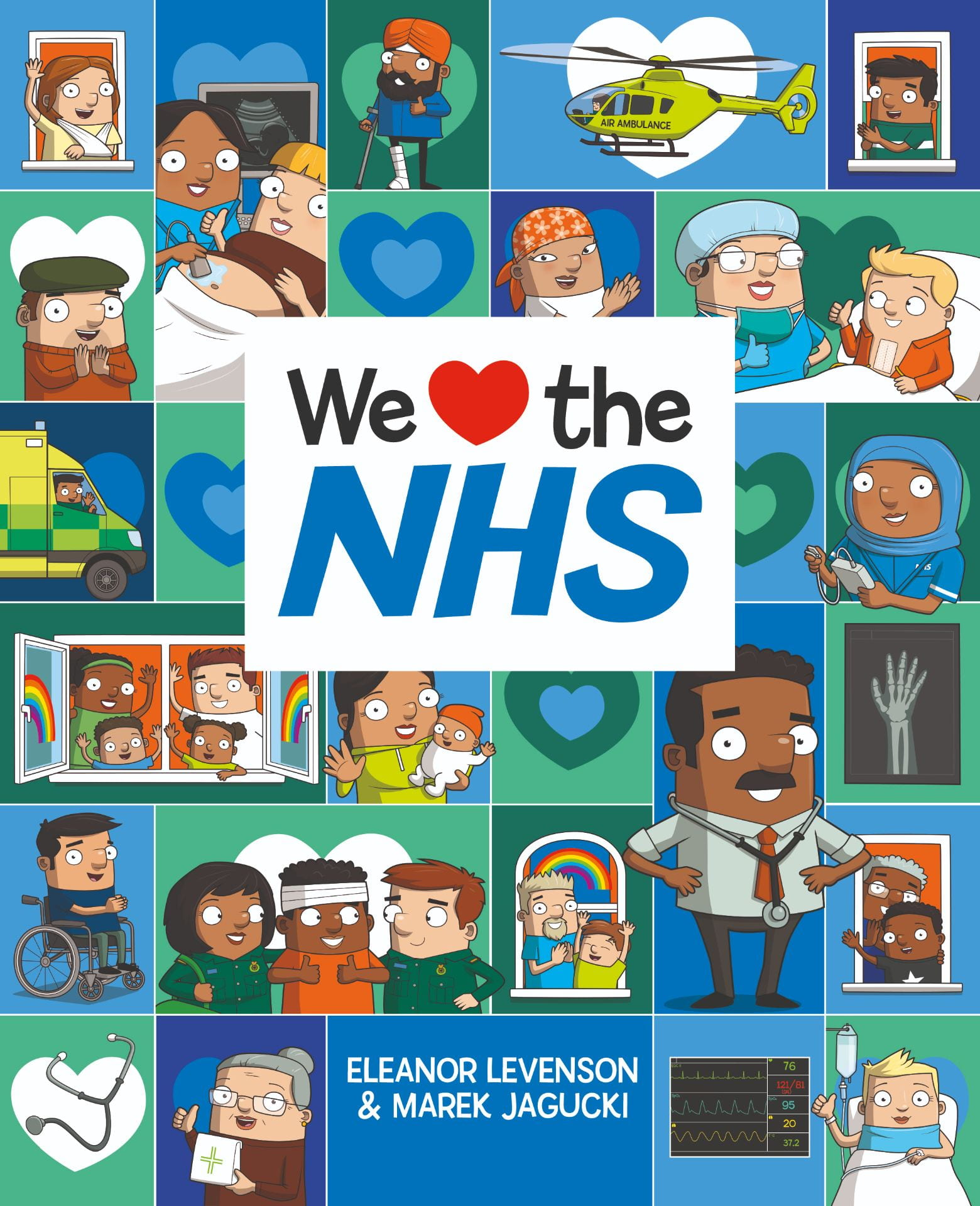 We Love the NHS book cover