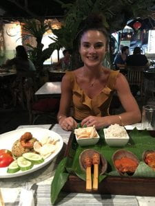 Francisca Posada-Brown in Singapore