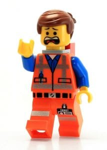 Lego Emmet minifig