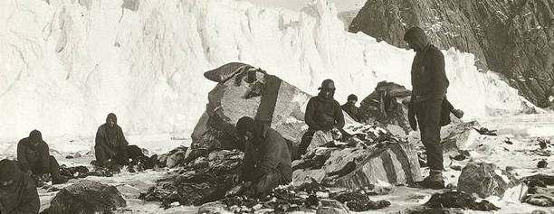 Shackleton's men on Elephant-island
