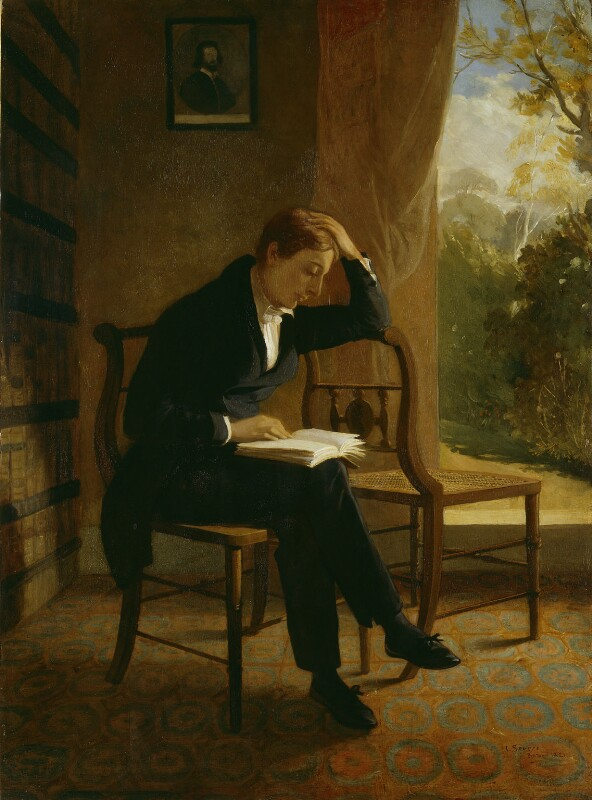 John Keats, by Joseph Severn, 1821-1823 - NPG 58 - © National Portrait Gallery, London