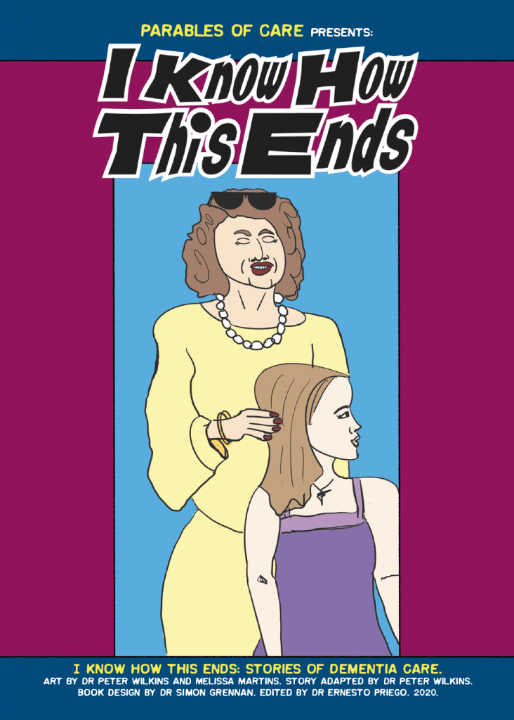 I KNow How This Ends: Stories of Dementia Care (2020) - cover