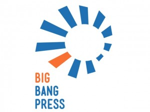 Big Bang Press' logo.  Source: www.goodereader.com
