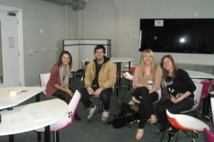 First-year tutor group on SWOT and Time Management
