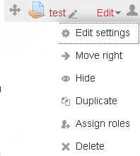 Editing icons grouped together.