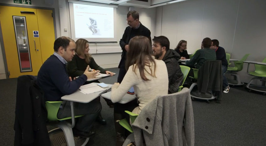 Learning Spaces - Teaching in Action, Lecturer and Students