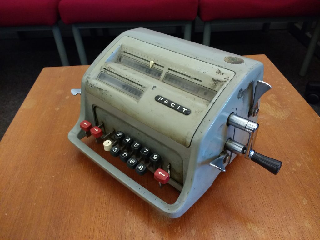Old calculator photo