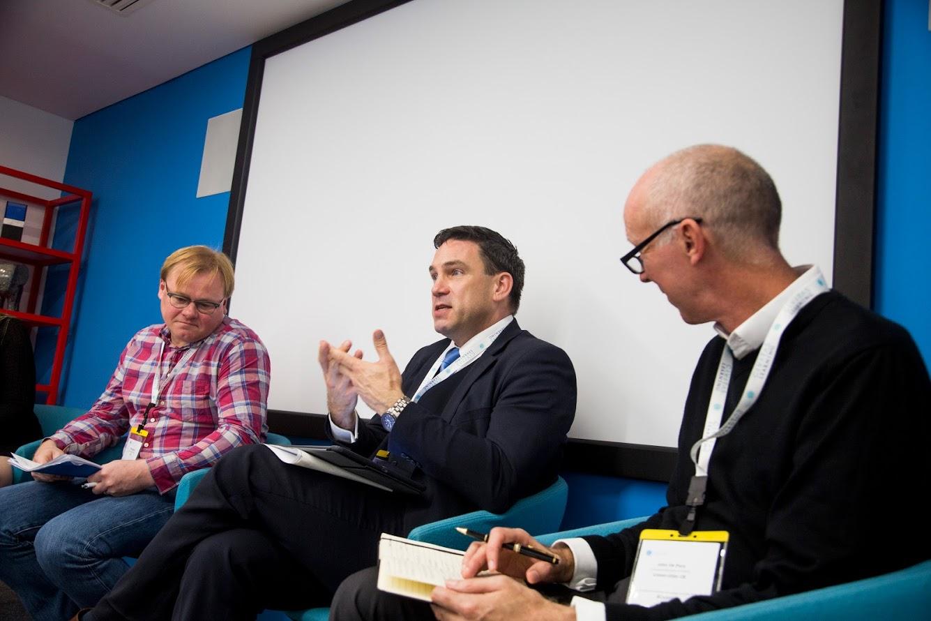 Panellists from Jisc, Buckinghamshire New University and Universities UK