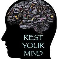 Picture of a head saying rest your mind