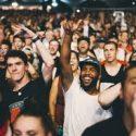 Image of an audience enjoying a rock show