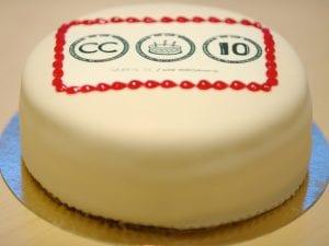 Creative Commons Cake