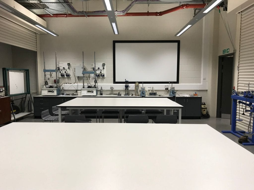 Civil Engineering undergraduate laboratory