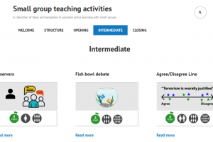 Small group teaching online toolkit