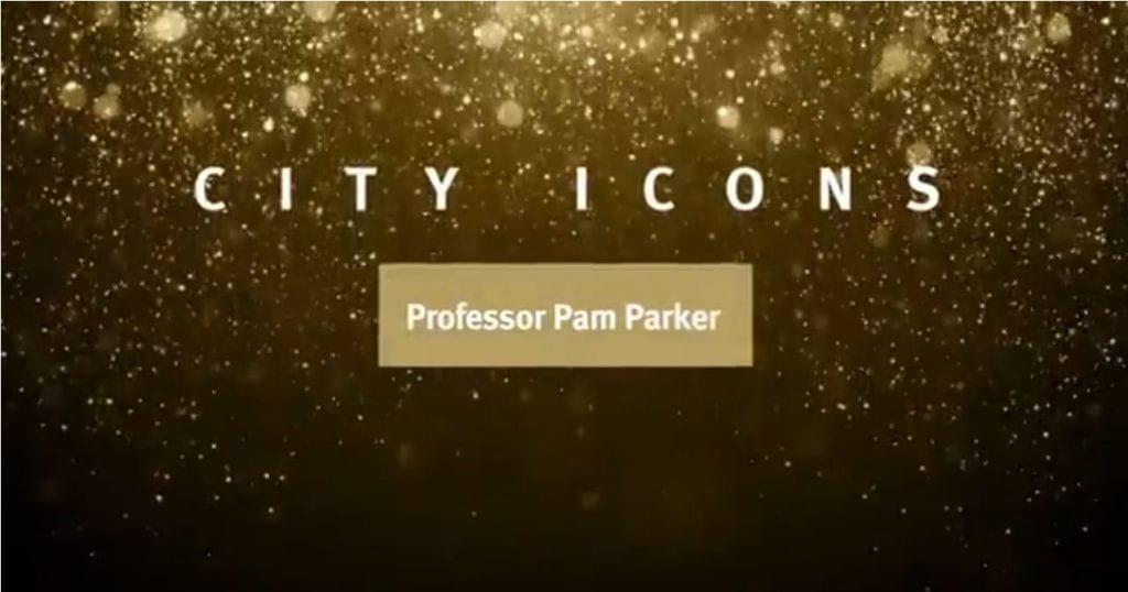 City Icons logo - Professor Pam Parker