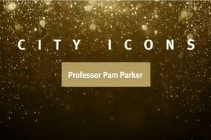 City Icons logo - Professor Pam Parker