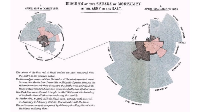 Florence Nightingale's 'Diagram of the Causes of Mortality'