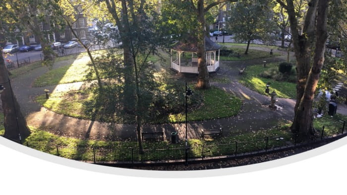 View from LEaD office in Northampton Sq