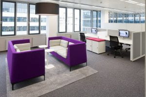 Naunce open plan office