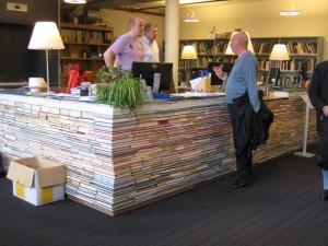 BK City library desk