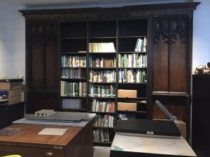 Interior of the Archive room