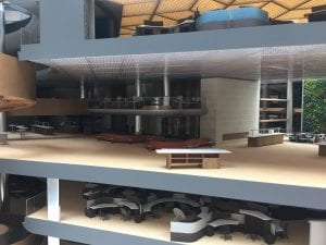 Model of Bloomberg London Headquarters