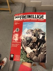 Magazine cover for Der Freiwillige