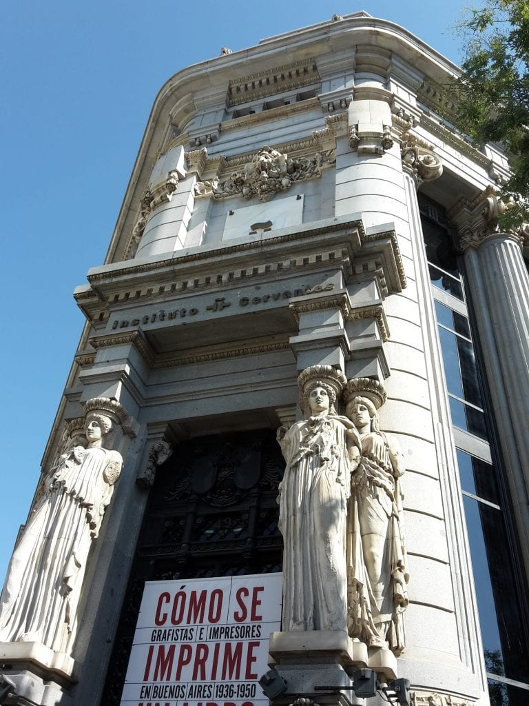 Cervantes Institute - Entrance